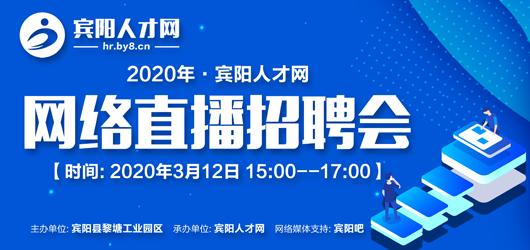 2020宾阳人才网网络直播招聘会